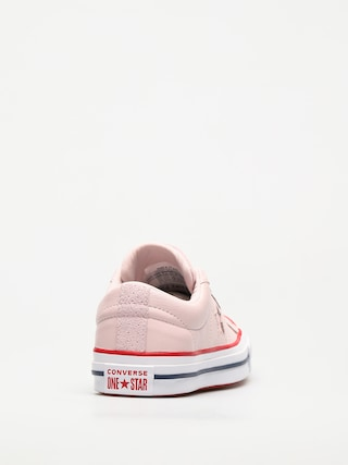 Buty Converse One Star (barely rose/gym red/white)