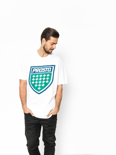 T-shirt Prosto Shield XVIII (white)
