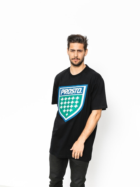 T-shirt Prosto Shield XVIII (black)