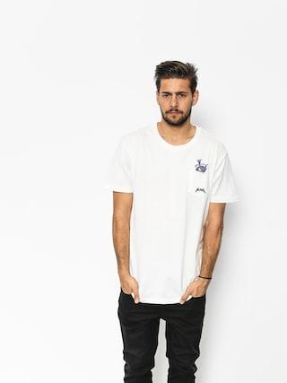 T-shirt Quiksilver Skumel (snow white)