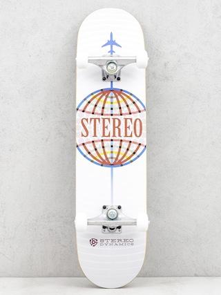 Deskorolka Stereo Worldwide (white)