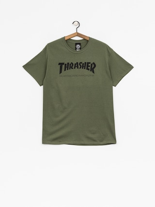 T-shirt Thrasher Skate Mag (military green)