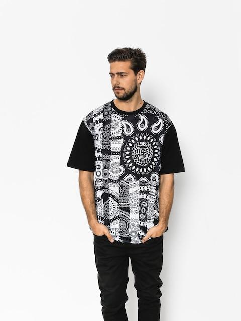 T-shirt MassDnm Bandana Flag (black)