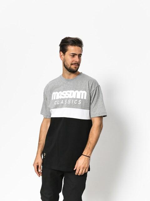 T-shirt MassDnm Respect (light heather grey/black)