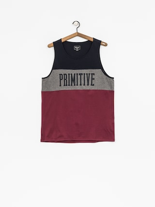 Koszulka Primitive League (navy/grey/maroon)