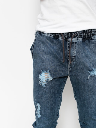 Spodnie Diamante Wear Rm Jeans Jogger (ripped blue jeans)
