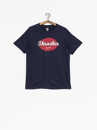 T-shirt Thrasher Oval (navy)