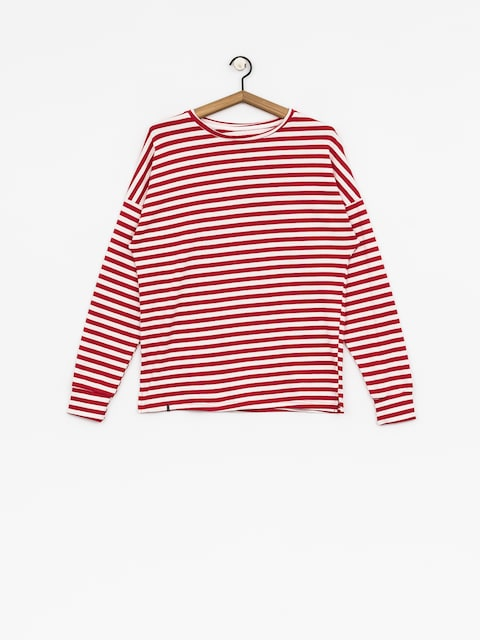 Longsleeve The Hive Stripes Wmn (red/white)