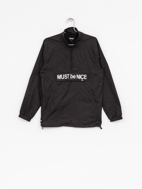 Kurtka RipNDip Must Be Nice Half Zip Anorak (black/3m ink)