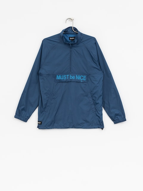 Kurtka RipNDip Must Be Nice Half Zip Anorak (blue)
