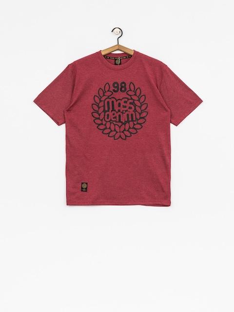 T-shirt MassDnm Base (heather claret)