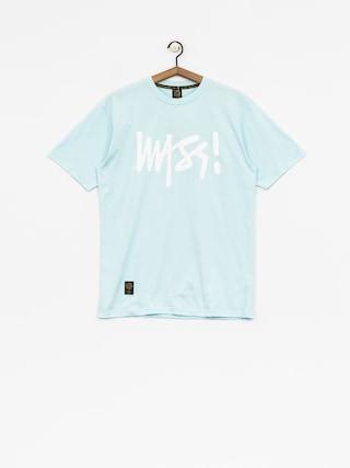T-shirt MassDnm Signature (light blue)