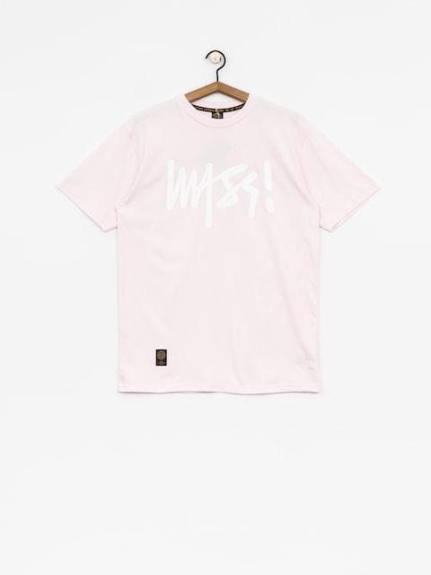 T-shirt MassDnm Signature (light pink)