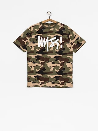 T-shirt MassDnm Signature (woodland camo)