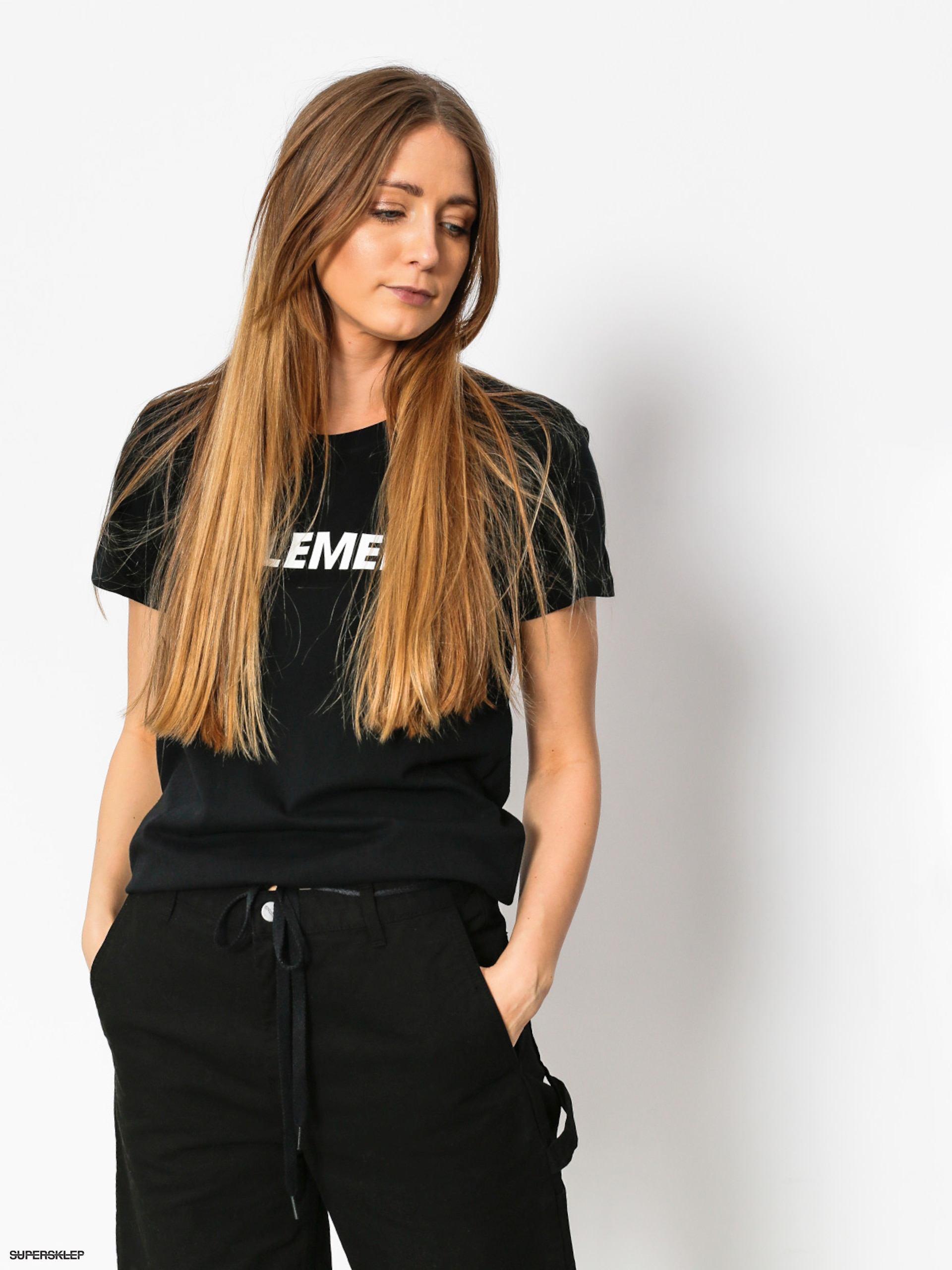 T-shirt Element Element Logo Wmn (black)