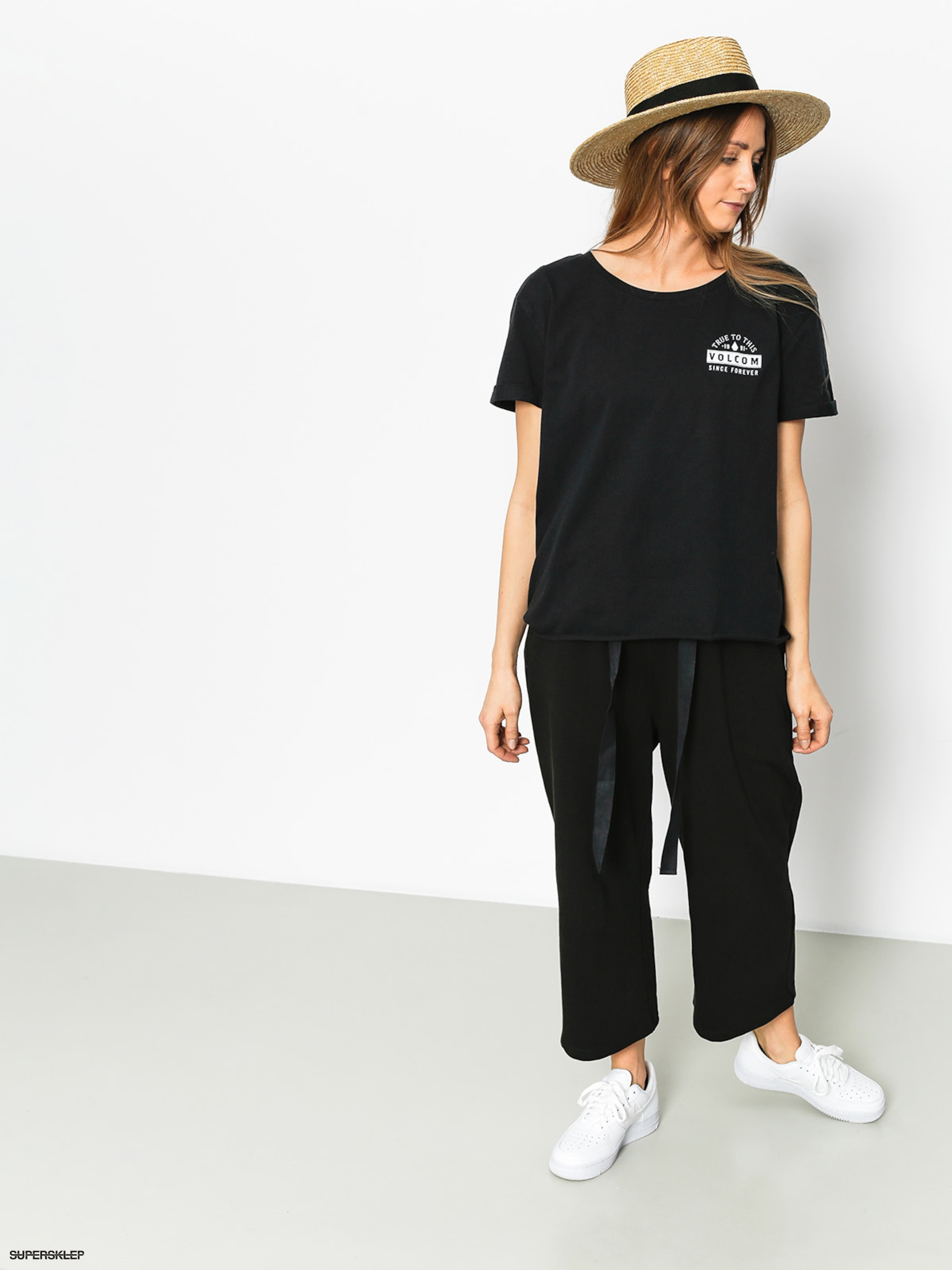 T-shirt Volcom Ride The Stone Wmn (blk)