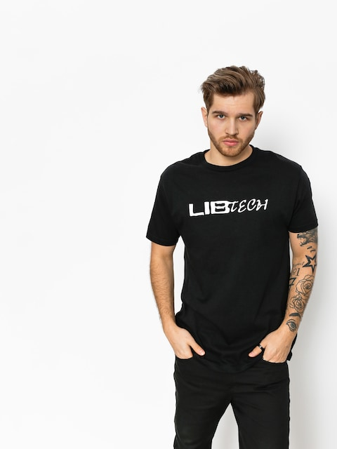 T-shirt Lib Tech Logo (black)