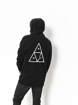 Bluza z kapturem HUF Triple Triangle HD (black)