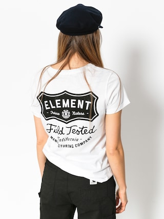 T-shirt Element Test Crew Wmn (white)