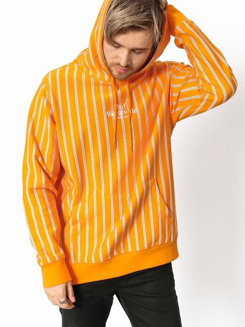 Bluza z kapturem HUF Sutter Stripe HD (cantaloupe)