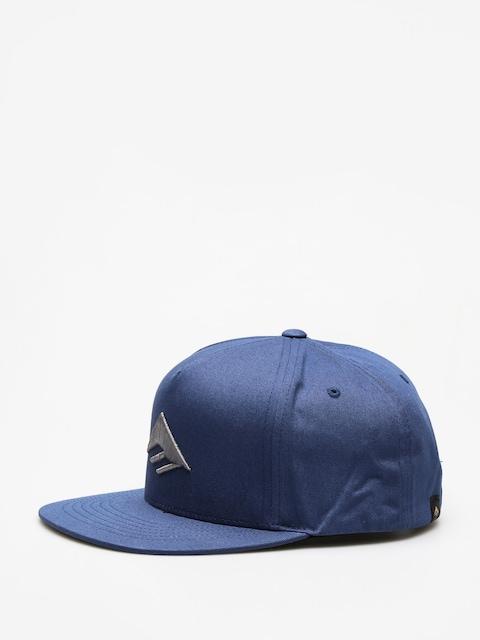 Czapka z daszkiem Emerica Triangle Snapback ZD (harbor blue)