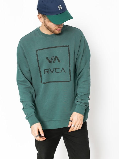 Bluza RVCA Va All The Way Crew (mallard green)
