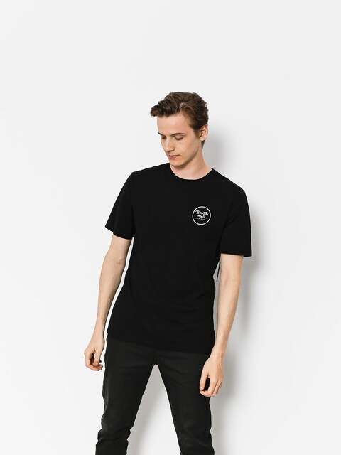 T-shirt Brixton Wheeler II Prt (black)