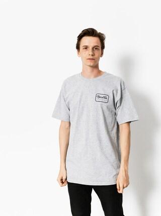 T-shirt Brixton Grade Stt (heather grey/black)