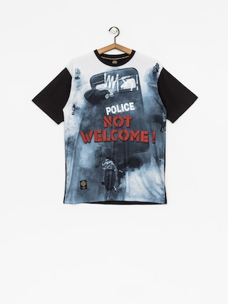 T-shirt MassDnm Not Welcome (multicolor)