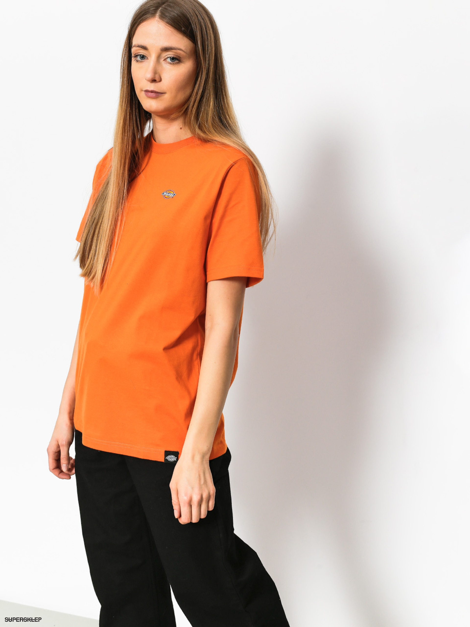 T-shirt Dickies Stockdale Wmn (energy orange)