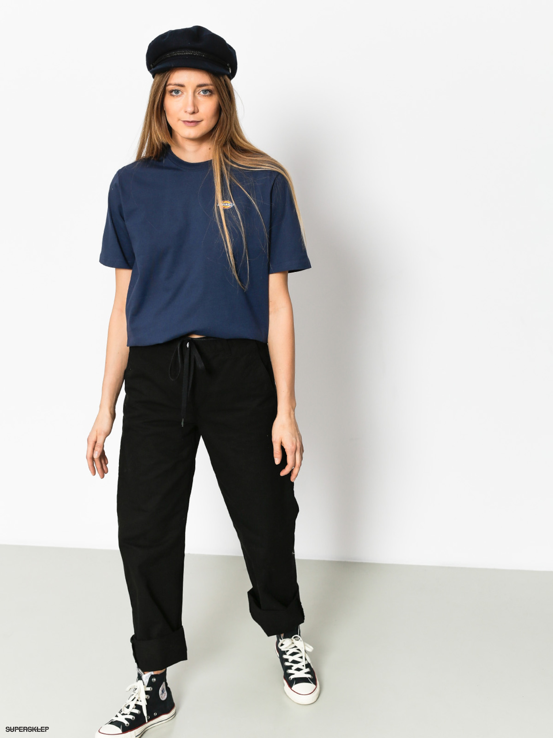 T-shirt Dickies Stockdale Wmn (navy blue)
