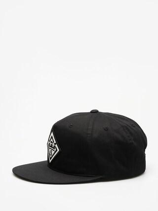 Czapka z daszkiem Supra Stncl Ptch Slidr ZD (black)