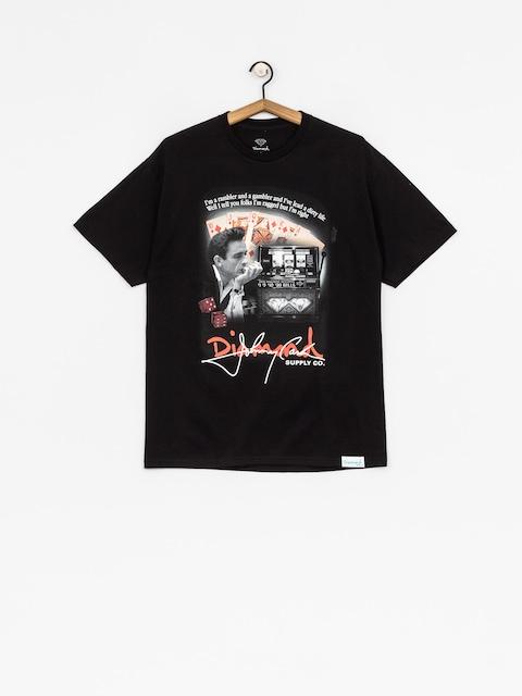 T-shirt Diamond Supply Co. Ragged (black)