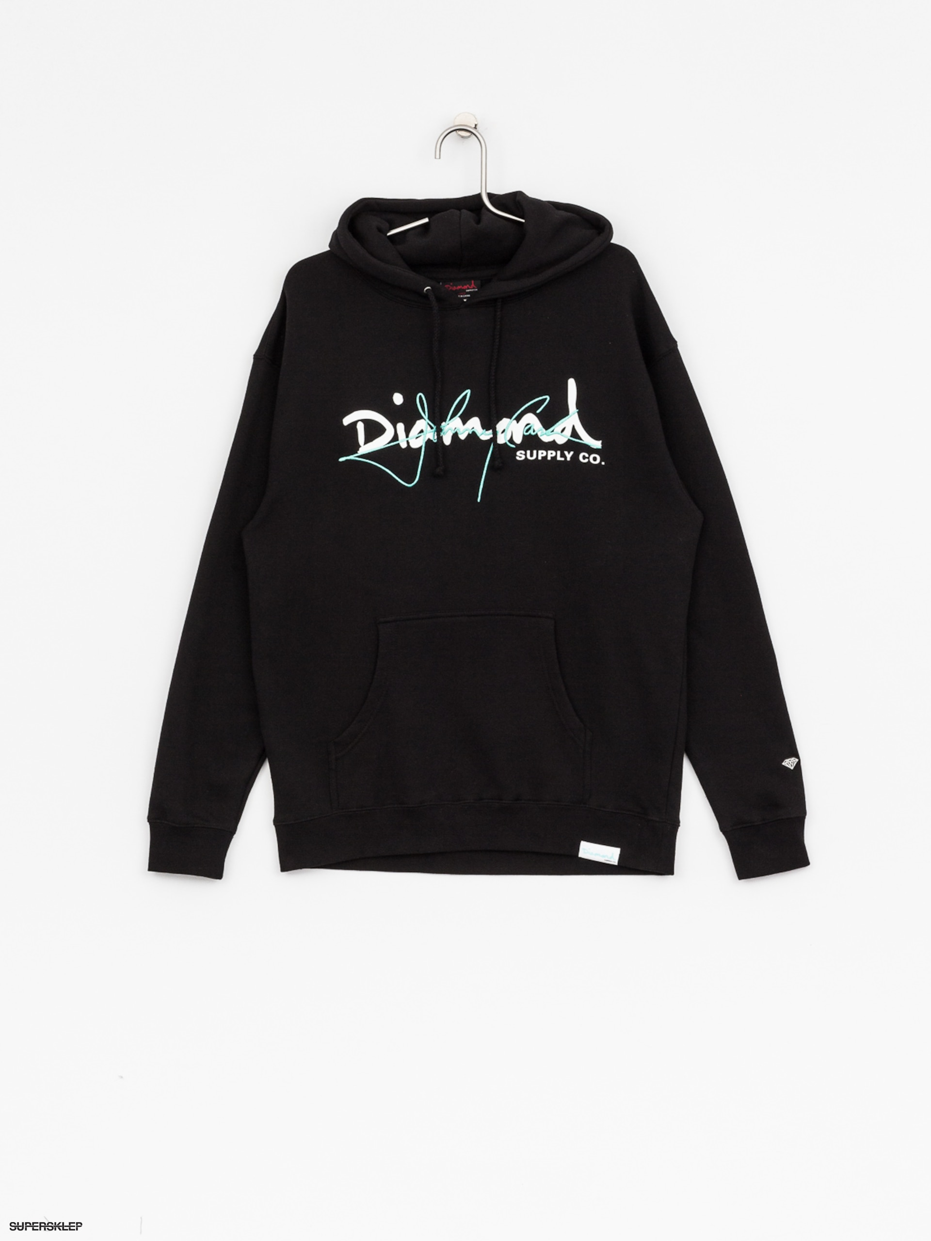 Bluza z kapturem Diamond Supply Co. Cash Rules HD (black)