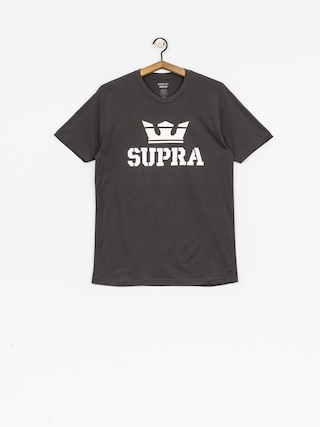 T-shirt Supra Above Reg (charcoal/white white)