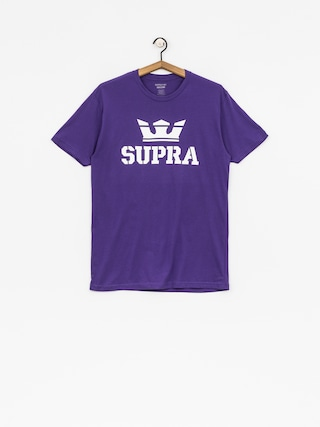 T-shirt Supra Above Reg (purple/white white)