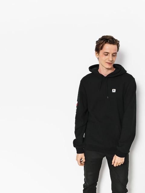 Bluza z kapturem Brixton Stowell Intl HD (black)