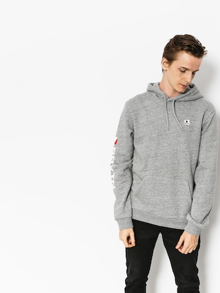 Bluza z kapturem Brixton Stowell Intl HD (heather grey)