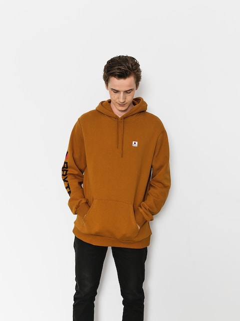 Bluza z kapturem Brixton Stowell Intl HD (washed copper)
