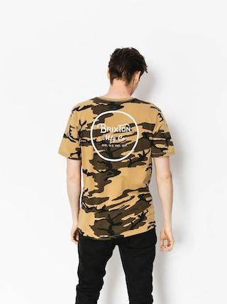 T-shirt Brixton Wheeler II Prt (camo)