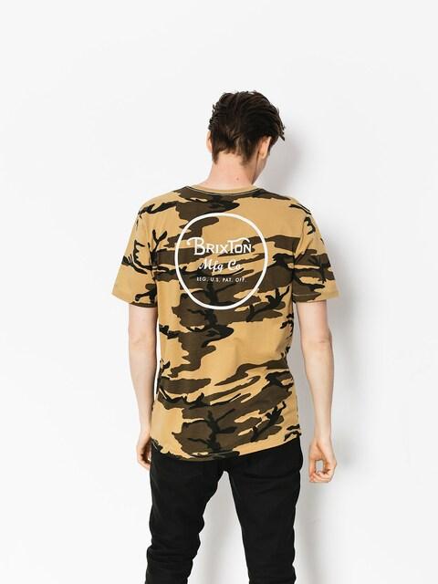 T-shirt Brixton Wheeler II Prt