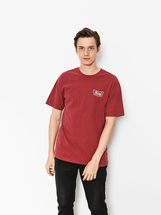T-shirt Brixton Stith Stt (burgundy)