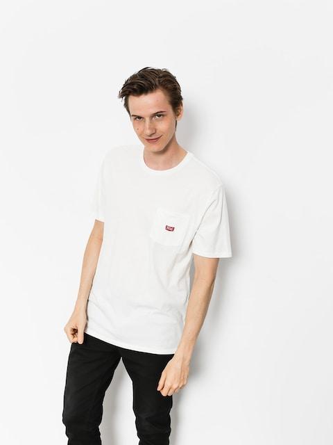 T-shirt Brixton Stith Wl Pkt (off white)