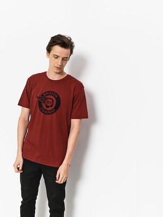T-shirt Brixton Mercury Prt (brick)