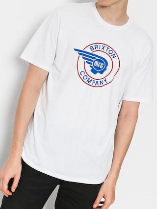 T-shirt Brixton Mercury Prt (white)