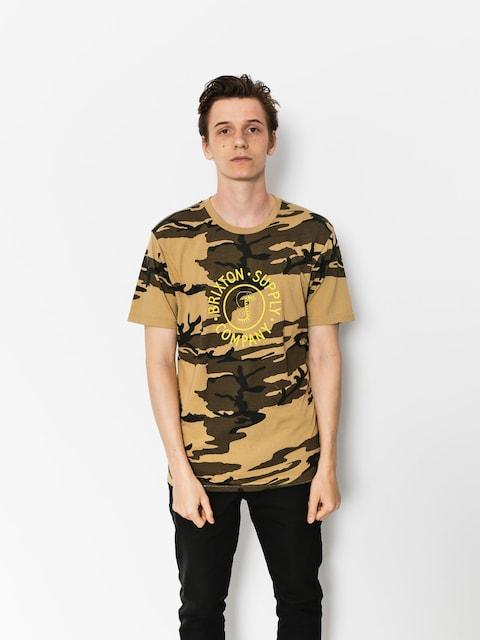 T-shirt Brixton Battalion Prt (camo)