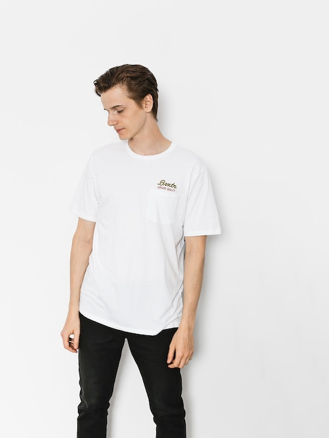 T-shirt Brixton Sprint Pkt (white)