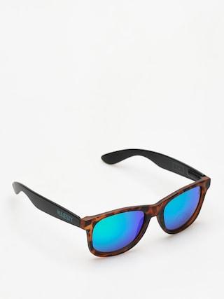 Okulary przeciwsu0142oneczne Majesty Shades L (tortoise/black green mirror lens)