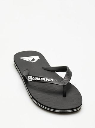 Japonki Quiksilver Molokai (black/black/white)