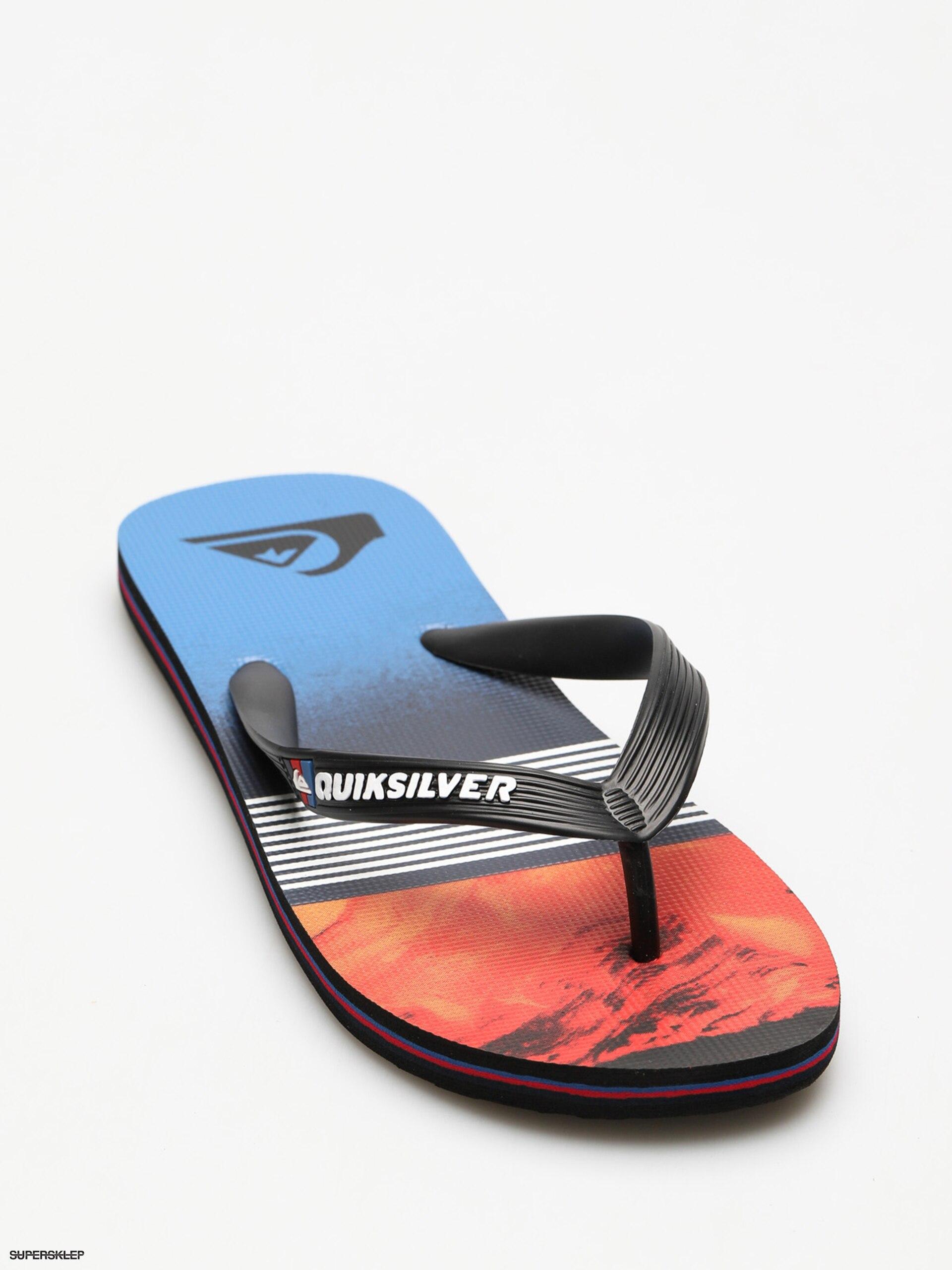 Japonki Quiksilver Molokai Lava Divsion (black/red/blue)